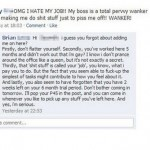 Stupid Girl Loses Her Job Because of Facebook Status