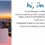 An example of a personal job search website