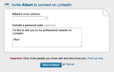 how to tell how many connections on linkedin