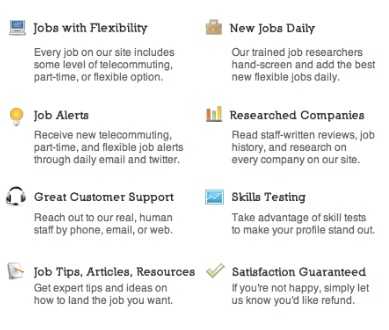 how to get a job with a website