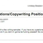 Possibly The Worst Cover Letter Ever (Must See)