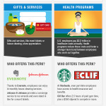 Important Job Employee Perks (Infographic)
