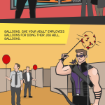 How NOT to HR: The Avengers Edition (Infographic)